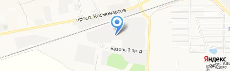 КОНСИБ на карте Барнаула