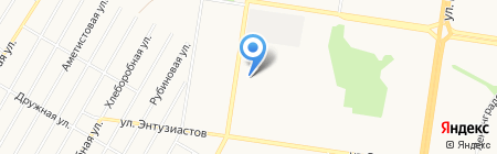 Азбука свадьбы на карте Барнаула