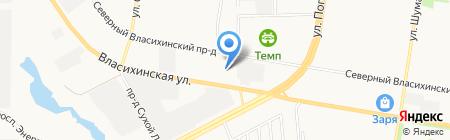 Пограничное управление ФСБ России по Алтайскому краю на карте Барнаула
