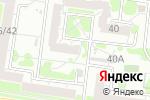 Схема проезда до компании Евразия в Барнауле