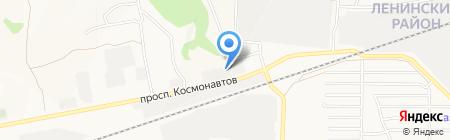 Триумф АВК на карте Барнаула