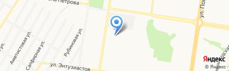 Пивной бар на карте Барнаула