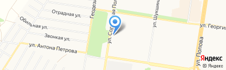 Ломбард-Бриалет на карте Барнаула
