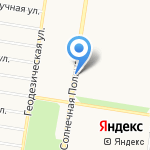 Колос на карте Барнаула