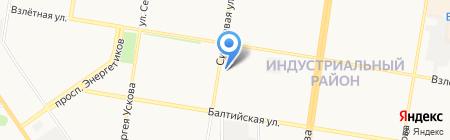 АВТО BOSS на карте Барнаула