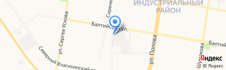 Алтайзапчасть на карте Барнаула