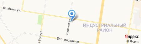 АВТО ПИЛОТ на карте Барнаула