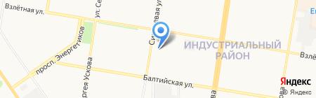 AUTOРЕГИОН22 на карте Барнаула