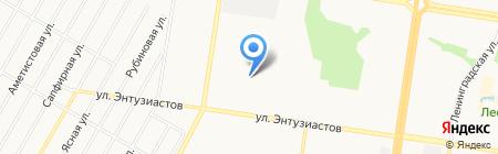 Студент на карте Барнаула