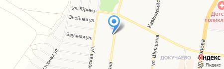 Автоидеал на карте Барнаула