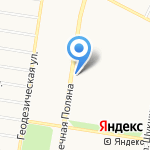 Бочкарь на карте Барнаула