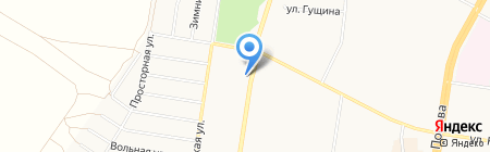 Вианор на карте Барнаула