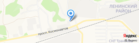 Бриз на карте Барнаула
