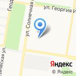 Таис на карте Барнаула