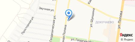 Почтовое отделение №60 на карте Барнаула