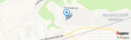 Гавар на карте Барнаула