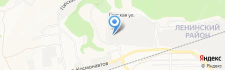 Сибтехснаб на карте Барнаула