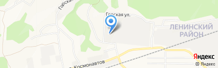 Барнаульский завод цепей на карте Барнаула