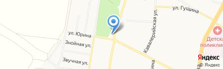 На Солнечной на карте Барнаула