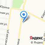 Конкер на карте Барнаула
