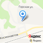 Строй-конструкция на карте Барнаула