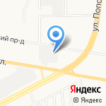 Бокс №1 на карте Барнаула
