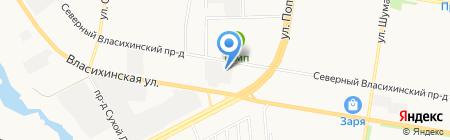 АВТОПОЛИКЛИНИКА на карте Барнаула
