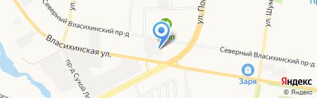 ГСК-876 на карте Барнаула