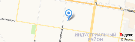 Импульс на карте Барнаула