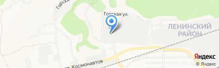 Техпроминвест на карте Барнаула