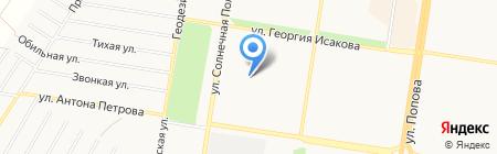 Анна на карте Барнаула