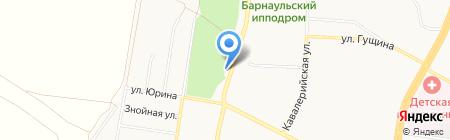 Солнечный на карте Барнаула