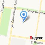 Самурай на карте Барнаула