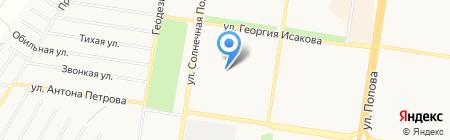 СДЮШОР №3 на карте Барнаула