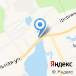 Магазин по продаже фруктов и овощей на карте Барнаула