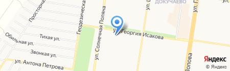 Муравейник на карте Барнаула