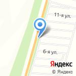 У Озера на карте Барнаула
