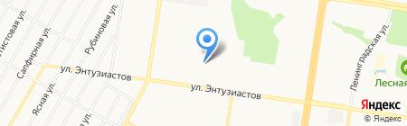 Wella на карте Барнаула