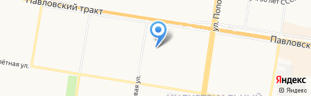 Зеленая Аптека Алтая на карте Барнаула