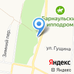 Текстильная мануфактура Захаровых на карте Барнаула