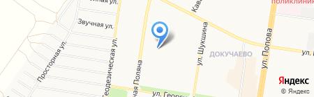 Аббат Компьютеров на карте Барнаула