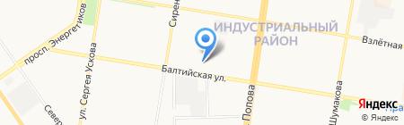 Авторемонтный центр на карте Барнаула