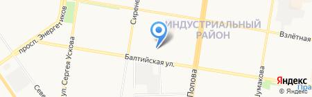 Пилсервис на карте Барнаула