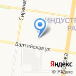 БАЛКОНОФФ на карте Барнаула