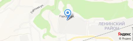 Химпром на карте Барнаула