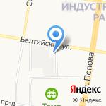Подшипник плюс на карте Барнаула