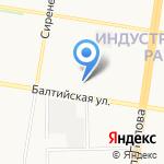 Актив на карте Барнаула
