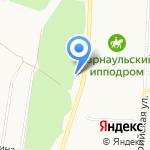 Автокомплекс на карте Барнаула