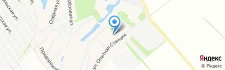 Треалс на карте Барнаула