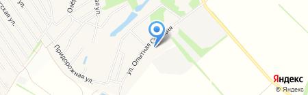 Детский сад №176 на карте Барнаула